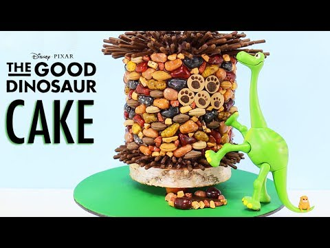 GOOD DINOSAUR CAKE - How to Make an ARLO Dinosaur Cake