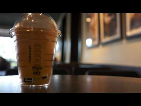 Limited Starbucks Golden Mango Frappuccino Mobile Charger
