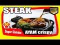 Resep Cara Membuat Steak Ayam Crispy Saus Coklat - Chicken Steak With Traditional Brown Sauce