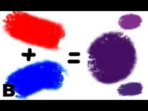 what two colors make purple, what colors make purple