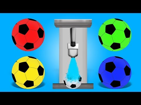 Learn Colors | Soccer Ball | Children Babies Learning Video