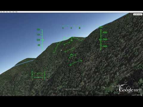 Google Earth Pro Flight Sim Flyover of Our April 15th, 2017, 26 Mile Day Hike Trek Track (GSMNP)
