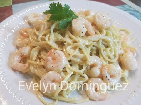 How to make Shrimp Alfredo Pasta