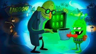 ОХОТА на ЗОМБИ первое ДОСТИЖЕНИЕ #2 мультик игра для детей ПРО ЛОВЦОВ ЗОМБИ  видео для малышей