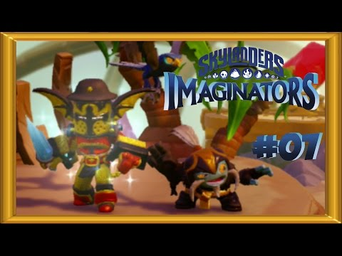 Skylanders Imaginators Walkthrough 100% -  Expert Mode |  ALL COLLECTIBLES  | 2 Player - Part 7