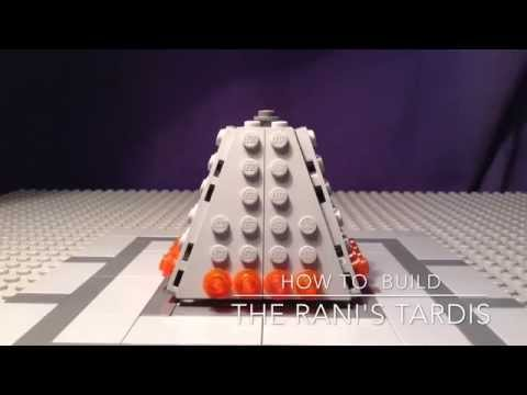 Lego Doctor Who How to build 5: The Rani's Tardis