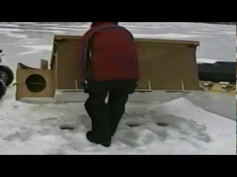 Worlds Fastest Folding Ice Shanty (part 2)