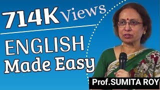 English Made Easy By Prof Sumita Roy Part 1