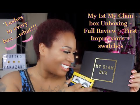 Xxx Mp4 My 1st My Glam Box Unboxing Full Review First Impressions Swatches 3gp Sex