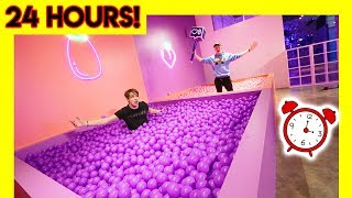 Download OVERNIGHT IN MODERN ART MUSEUM! (ball pits) Video