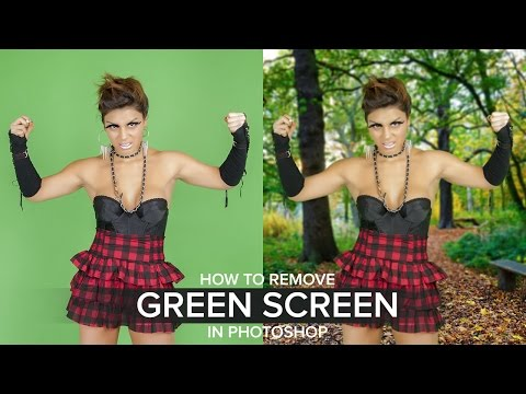How to Remove Green Screen Background in Photoshop