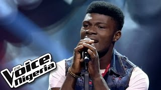 David Operah Sings Stay Blind Auditions  The Voice Nigeria 2016