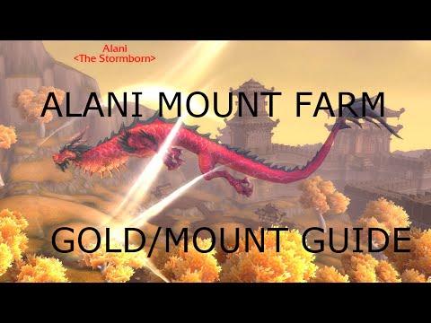 Warlords of Draenor Alani Mount Farm/Gold farm guide