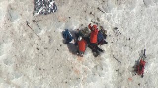 Climbers rescued on Mount Hood