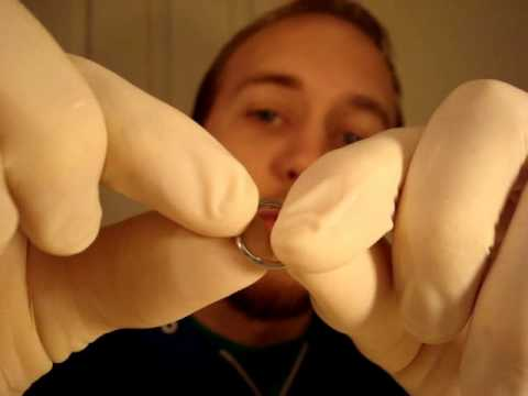 Captive Bead Rings inserting and removal how to, body jewelry