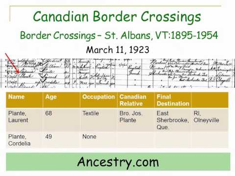 Researching Your Canadian Ancestors - an Overview, a preview