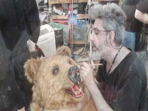 BEAR FAMILY, Making The Bear Costumes