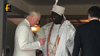 OONI OF IFE,  EMIR OF KANO,  EMIR OF SOKOTO, AND OBA OF BENIN VISIT PRINCE CHARLES IN ABUJA