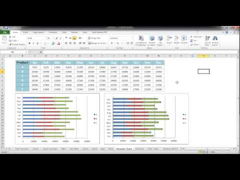 1 06 Create 3D Bar Charts in Excel