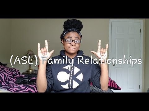 (ASL) Family Relationships (Quiz at end of video)