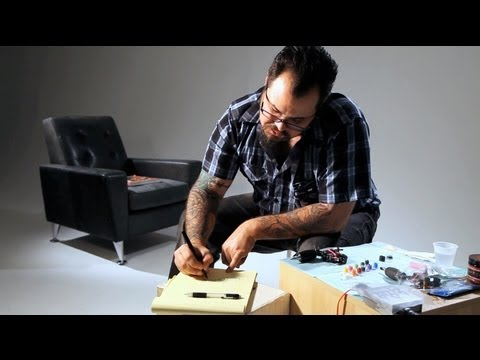How to Do Script & Calligraphy   Tattoo Artist