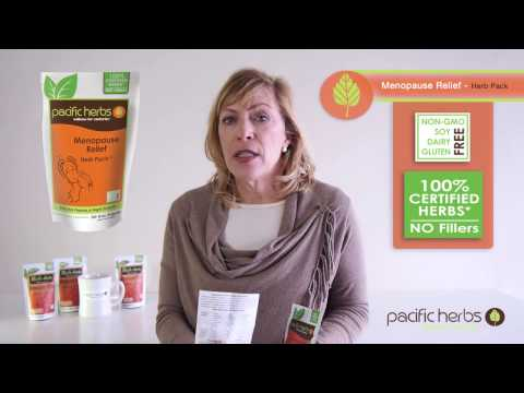 Natural Menopause Treatment - Menopause Relief Herb Pack for hot flashes & night sweats