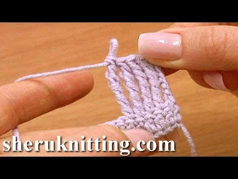 How to Make Quadruple Treble Crochet Stitch Tutorial 13 Crochet Basics