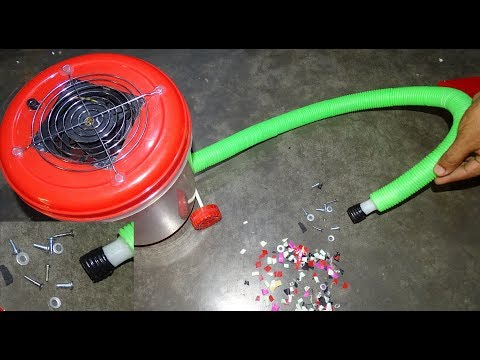 How to Make Powerful Vacuum Cleaner at Home- Easy Way