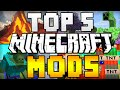 TOP 5 MINECRAFT MODS! (Minecraft 1.8) - 2015 [HD]