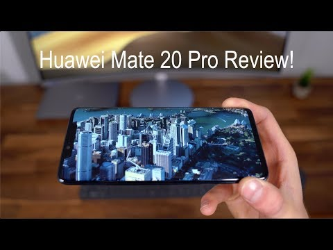 Huawei Mate 20 Pro Review!
