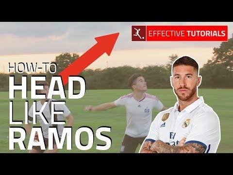 3-Steps: How-To Head The Ball Like Ramos Tutorial