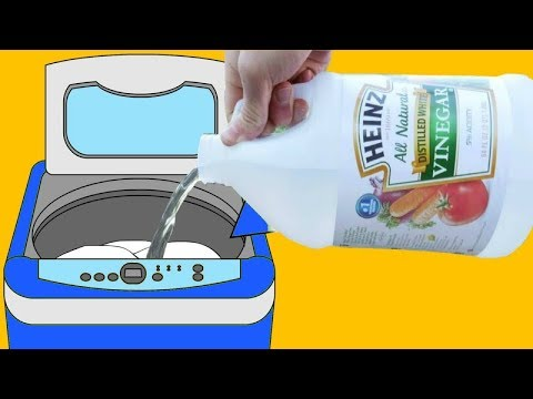 Put Vinegar in The Washing Machine And You'll Be Amazed With What Happens