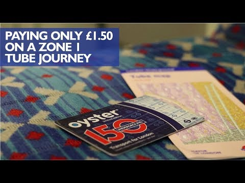 Zone 1 Tube Journey For Just £1.50