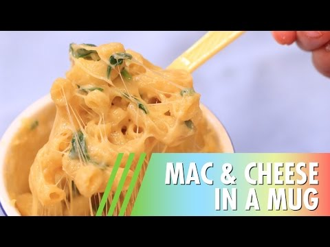 Mac & Cheese in a Mug // 4 Ingredients + Only 5 Minutes!