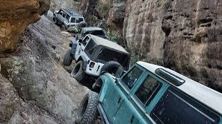 Mt Airly 4x4 Part 1 - Genowlan Point - Jeep, Toyota, Nissan, Land Rove