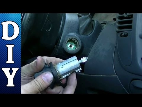 How to Remove and Replace an Ignition Lock Cylinder - Ford F150