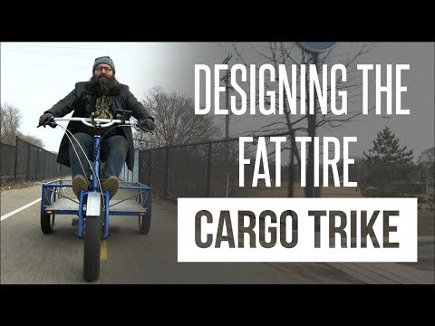 The Last Bike You'll Ever Need: Peacock Groove Fat Tire Cargo Trike | Meet the Makers | HTME