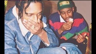 """ASAP Rocky GOES OFF On Tyler The Creator For Acting """"Sus"""" On His Instagram Live!"""