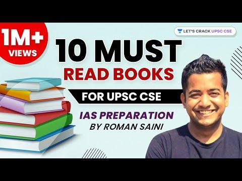 10 Must-Read Books for UPSC CSE / IAS preparation by Roman Saini - हिंदी