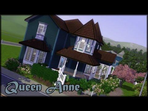 Sims 3 Build - Queen Anne