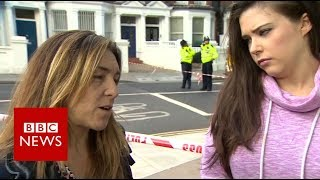 Parsons Green: 'There was a human stampede' - BBC News
