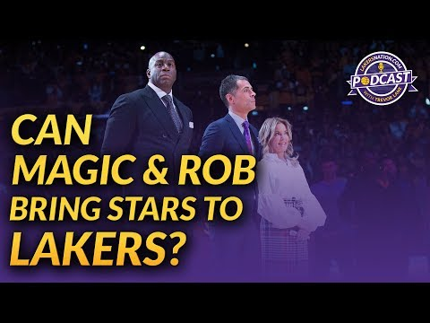 Lakers Podcast: Can Magic Johnson And Rob Pelinka Bring Stars To Los Angeles?