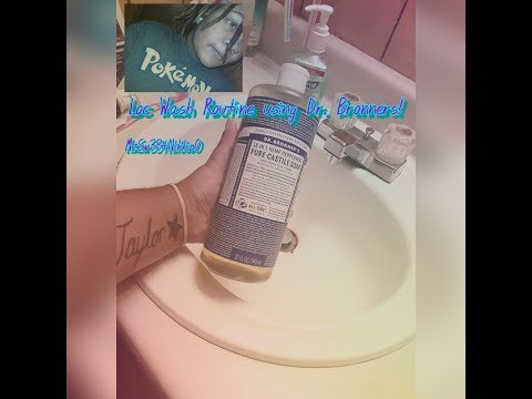 ❤ My Loc/Dreads Wash Routine using Dr Bronners! ❤