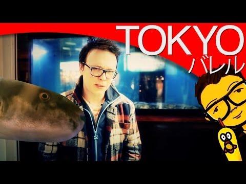 Śmiercionośna ryba Fugu i rybie nasienie [Tokyo] / Fugu fish dinner & shirako w/ English subtitles