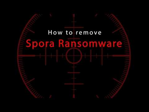 How to delete Spora Ransomware