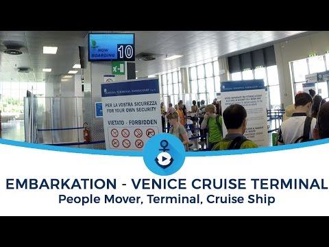 Crociere: Imbarco a Venezia 2016