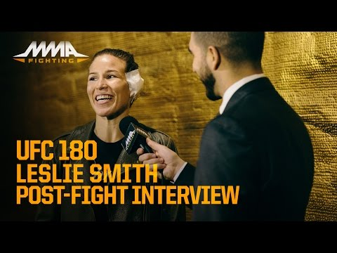 UFC 180: Leslie Smith Calls Gruesome Ear Injury 'Gnarly'