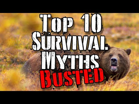 Top 10 Survival Myths Busted