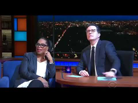 New Age Oprah Mocks God and Jesus on the Late Show with Stephen Colbert - VIDEO