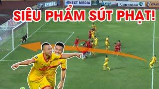 Lê Sỹ Minh sút phạt xuyên hàng rào cực dị trong lịch sử V.League 🔥 | Nam Định - SLNA | NEXT SPORTS